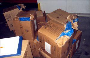 Повреждение груза при перевозке