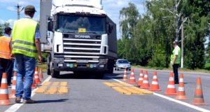 Весовой контроль грузового автомобиля